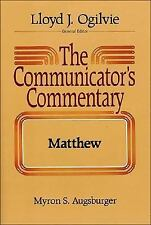 The Communicator's Commentary Matthew
