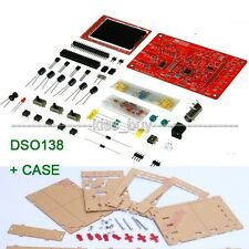 "DSO138 2.4"" TFT Digital Oscilloscope Kit DIY with probe Oszilloskop+housing CASE"