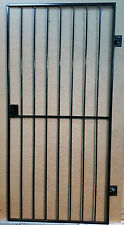 SECURITY GRILL DOOR, GATE. METAL GARDEN SIDE GATE / WROUGHT IRON GATE Gr