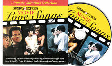CD CARTONNE CARDSLEEVE COLLECTOR 15T MOVIE LOVE SONGS GHOSTS/DIRTY DANCING....