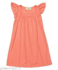 Popsicle Orange Polka Dot Nightdress - Size: XS (for 2-3 y/o)
