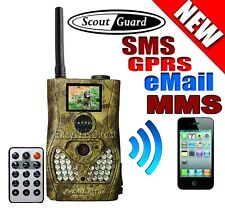 Latest ScoutGuard SG550-SG580M GPRS MMS to Cell Phone HuntScouting Trail Camera