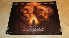 RED DRAGON  movie poster ANTHONY HOPKINS poster HANNIBAL LECTER