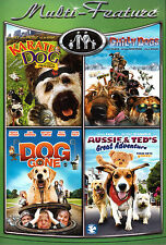 Four Movies on 2 DVDs - Karate Dog, Chilly Dogs, Dog Gone, Aussie & Ted's Great