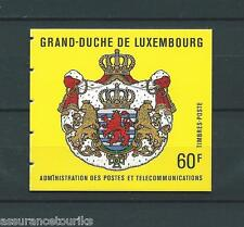 LUXEMBOURG - 1989 YT C1175 CARNET - TIMBRES NEUFS** LUXE - COTE 20,00 €