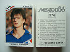 1986 Panini MEXICO 86 WM Fifa World Cup Football Soccer Stickers Cards Cromos