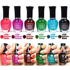 "KLEANCOLOR NAIL POLISH CHUNKY HOLO LOT OF 6 SET LACQUER ""Answer Of Significance"""