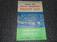 1958 F A CUP FINAL :  BOLTON WANDERERS  v  MANCHESTER UNITED   MAY 3rd  #2 GROUP