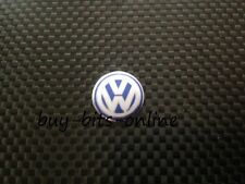 VW Key Fob Emblem Logo Badge Blue 14mm x 1 Bora Passat Touran Passat Golf Polo