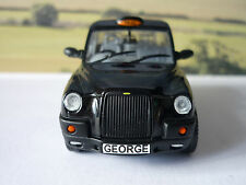 PERSONALISED PLATES Gift 1/43 Model Toy TX4 London Black Taxi Cab Present Boxed