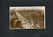 Postcard -c1920's View Of Princess Street, With Good View Of The Trams Edinburgh