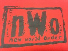 NWO New World Order Red Small T-Shirt Wrestling WWF Tag Team WWE ECW