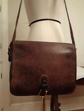 COACH nubuck glove-tanned cowhide vintage shoulder bag made in New York City USA