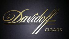 "Davidoff Cigars decal *special 1"" height*"