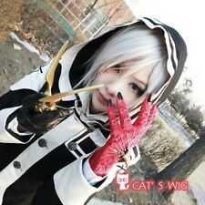 D.Gray-man Allen Walker cosplay wig UK