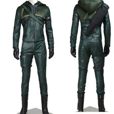 Hot !Green Arrow Oliver Queen Cosplay Costume Full Suit Any Size