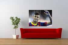 PHOTO SPORT PORTRAIT FOOTBALL SOCCER STAR NEYMAR GIANT ART PRINT POSTER NOR0999