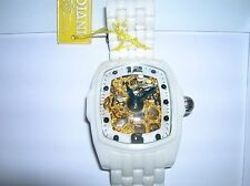 Invicta White Ceramic Watch new untested list was $400.00 lot # 8546