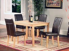 ASHDALE ASH DINING SET WITH 4 CHAIRS