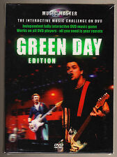 GREEN DAY - MUSIC MASTER - INTERACTIVE MUSIC GAME - NEW SEALED - 2 DISC DVD SET