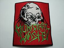 MUNICIPAL WASTE  EMBROIDERED PATCH