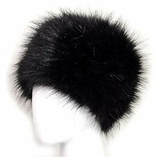 Dikoaina Faux Fur Cossack Russian Style Hat for Ladies Winter Hats for Women Med