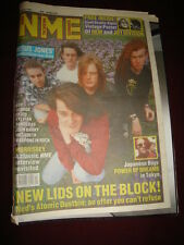 NME 1991 MAR 30 NED'S ATOMIC DUSTBIN REM JOY DIVISION JESUS JONES BOY GEORGE