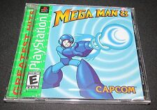 Mega Man 8 Playstation PS1 Brand New Sealed!