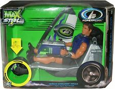 2006 Import Max Steel Windgunner Vehicle with 12-Inch Action Figure