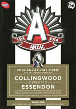 AFL 2014: Anzac Day Game - The Tradition Continues: Collingwood defeated Esse...