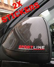 VW Transporter 2x Stickers T5 T4 Caddy Sportline Mirror Grill Window Wheels Dash