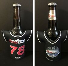 Coors Light Beer Bottle Koozie Classic Jersey 78 Logo ~ Set Of Two (2) NEW & F/S