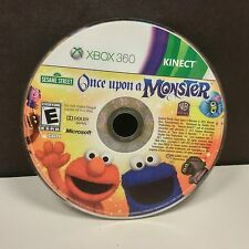 Sesame Street: Once Upon a Monster (Microsoft Xbox 360) DISC ONLY #9492