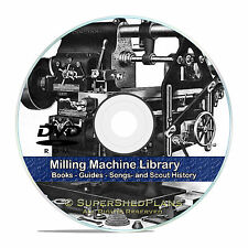 Milling Machine Operation Guides, Screw Making, Jigs, Dies, Machinist CD DVD V45