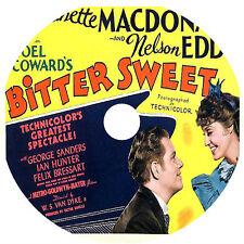 Bitter Sweet _ Jeanette MacDonald Nelson Eddy George Sanders 1940 dvd v rare