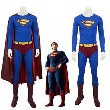 Superman Returns Clark Kent Superman Cosplay Costume