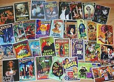 32 diff. Magic Mini Poster stickers -- adhesive back, classic and modern    TMGS