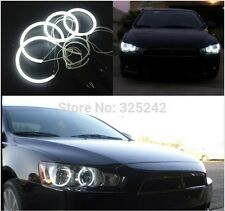 4x Excellent CCFL Angel Eyes kit For Mitsubishi Lancer 2008-2015 non projector