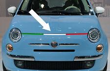 1 X BANDE TRICOLORE ITALIA CAPOT FIAT 500 ABARTH 92cm AUTOCOLLANT STICKER BD5191