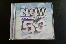 Now 53 – 2 CDs – 43 Top Chart Hits from 2002 - Excellent Condition - FREE P&P