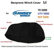 Ramsey Winch Neoprene Cover UTV TR REP 5000 lb WaterResist M Small Snugly fit