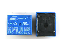5PCS Relay 12V DC SPDT Power Quality SRD-12VDC-SL-C SONGLE Good Quality DIY New