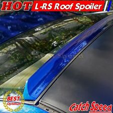 Unpainted LRS Type Rear Roof Spoiler Wingr For Honda Civic 2012-2015 Coupe ♘