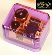 PURPLE GOLD WIND UP MUSIC BOX : Star Wars - The Force Theme
