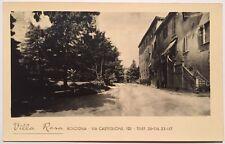 ° cartolina d'epoca BOLOGNA VILLA ROSA via Castiglione 103 casa di cura salute °