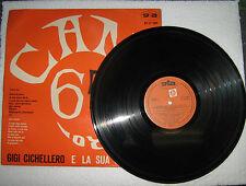 GIGI CICHELLERO e Orchestra Cantagiro 65 - LP GTA RECORDS GT LP 1001 Italy 1965