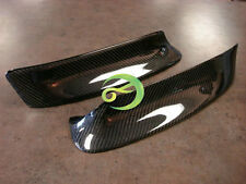 REAL CARBON FIBER FRONT SPLITTER BUMPER LIP SPOILER For BMW E46 M3 99-06 2001