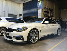 BMW 4 series f32 M performance end carbon fiber front lip- bar kit spoiler wing