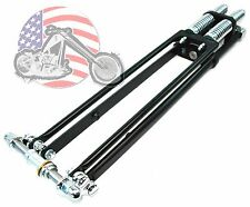 "22"" DNA Stock Black Narrow Glide Springer Front End w/ Axle Kit Harley Chopper"