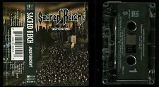 Sacred Reich Independent USA Cassette Tape Hollywood Records